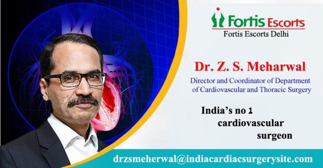 Top Cardiovascular Surgeon Dr Meherwal of Escorts